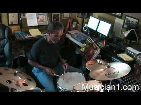 LowRider Harold Brown on Drums