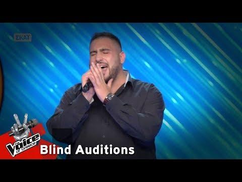 Όμηρος Μπαμπούκης - Ένας Τούρκος στο Παρίσι | 14o Blind Audition | The Voice of Greece