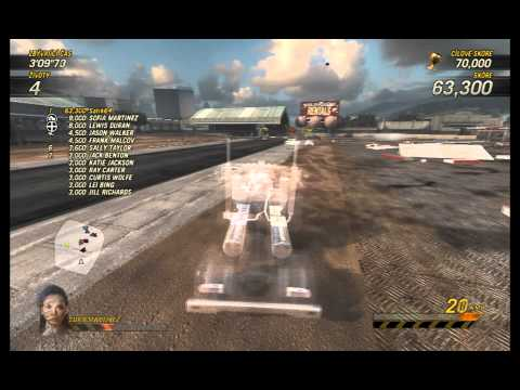 FlatOut Ultimate Carnage - Truck Carnage derby (score: 175 550)  