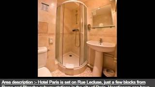 Best Paris Hotel Idea | Hotel Paris Lecluse -Picture Collection And Info