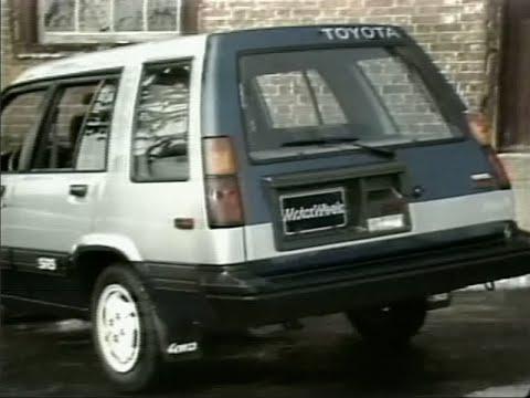 motorweek retro review 1984 toyota tercel sr5 4wd wagon youtube rh youtube com toyota tercel wagon 4wd toyota tercel wagon 4x4 for sale