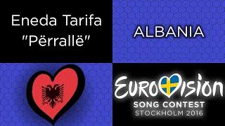 tesshex reviews eurovision 2016