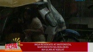 UB: Mga residente at motorista sa Nueva Ecija, naperwisyo ng malakas na ulan at kidlat