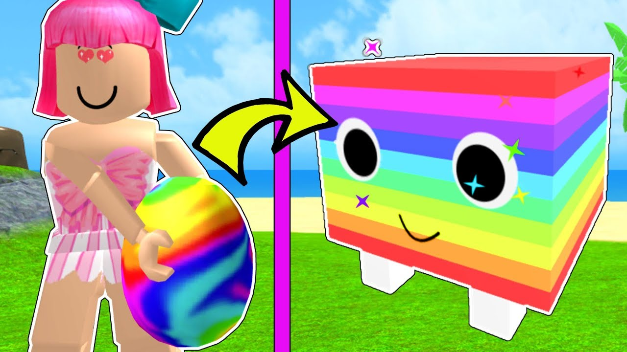 Roblox Overpowered Rainbow Pet Challenge Pet Simulator 3