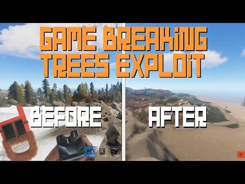 Game Breaking Invisible Trees Exploit! Rust Plez FIX! thumbnail