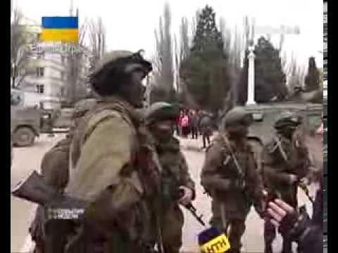 03.03.14 Как Российские войска входили в Крым