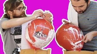 Ustura ile Balon Tıraş Etme Yarışması