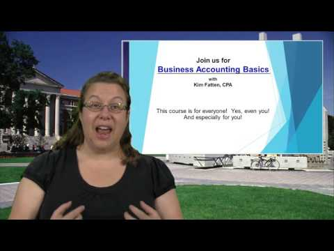 Business Accounting Basics | PurdueX on edX | Course About Video