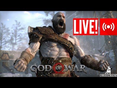 LIVE - CANAL BULLDOGAMES - GOD OF WAR O COMEÇO