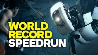 Portal 16 Minute SPEEDRUN Without Any Major Glitches (World Record)