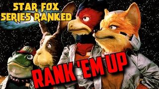 Star Fox | Rank 'em Up (Series Ranked from Worst to Best) Star Fox Zero | Shotana Studios