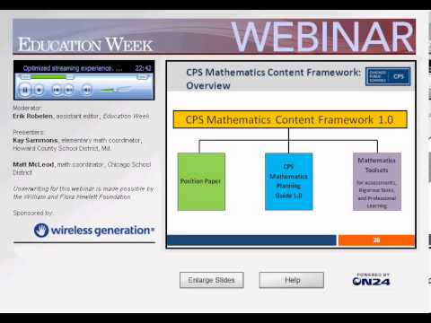 Implementing the Common Core Math Standards