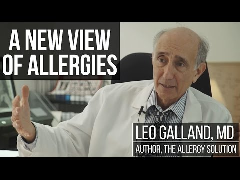 Allergies, Antibiotics & The Immune System w/ Dr. Leo Galland