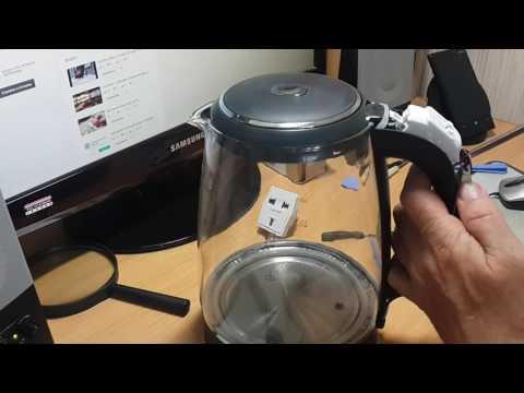 Разборка чайника Redmond и чистка