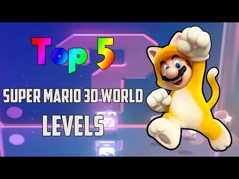 Top 5 Super Mario 3D World Levels