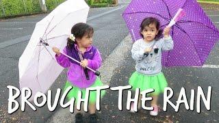 SORRY WE BROUGHT THE RAIN! - April 30, 2017 -  ItsJudysLife Vlogs