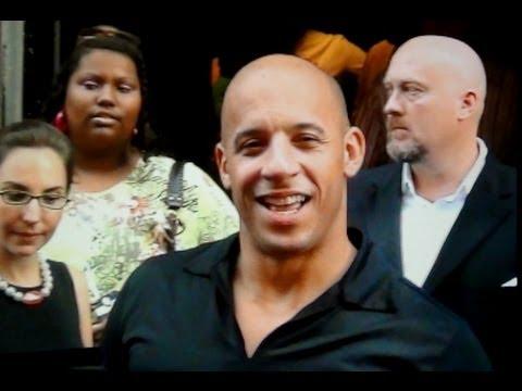Vin Diesel in Amsterdam
