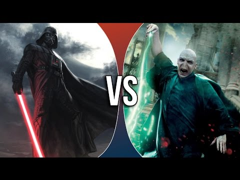 VS | Darth Vader vs Lord Voldemort