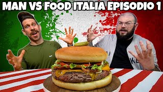 """MAN VS FOOD ITALIA"" episodio 1 - SASQUATCH BURGER CHALLENGE"