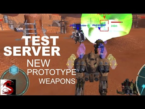 New Close Combat Prototype Weapons - Test Server 2.5.0 (176)