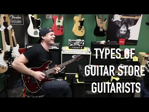 Download Youtube: Every Guitar Store Guitarist