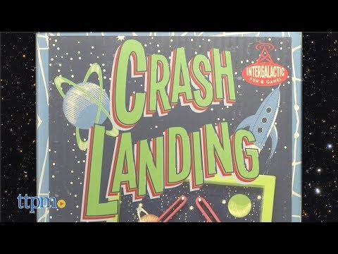 Crash Landing From Professor Puzzle