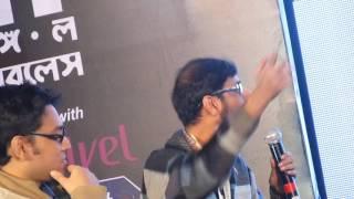 Chandril on Jibonmukhi gaan..with Anindya,Aniruddha,Anupam Roy.
