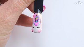 Unicorn Nails :: Jednorożec w One Minute of Indigo Inspiration