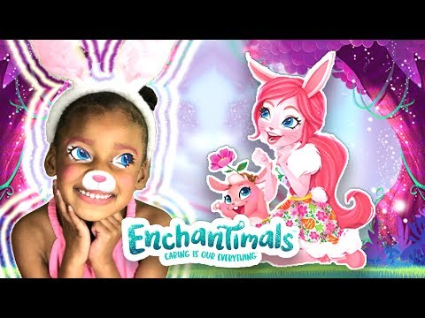 Surprise Enchantimals Dolls and Animal Friends Toy Challenge  - Baby Doll Pretend PlayToys