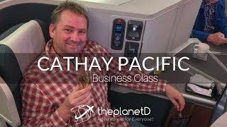 cathay pacific business class to hong kong