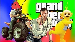 Random Epicness Caught On Tape - Grand Theft Auto V Funny Moments And Epic Fails