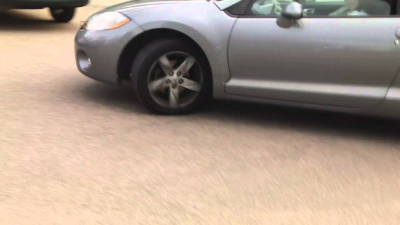 a manual mitsubishi eclipse car starting up and driving off from my rh youtube com Auto Start Manual Remote Car Start