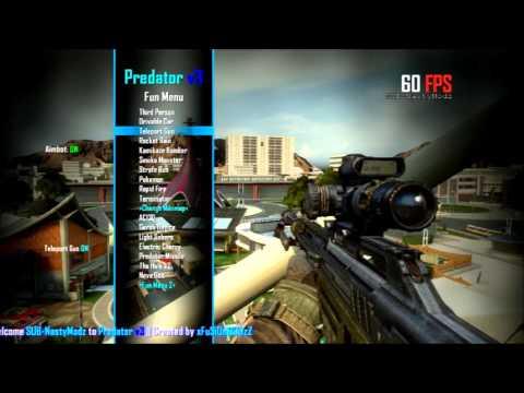BO2 Mod Menu|Predator V3 (jailbreak needed)