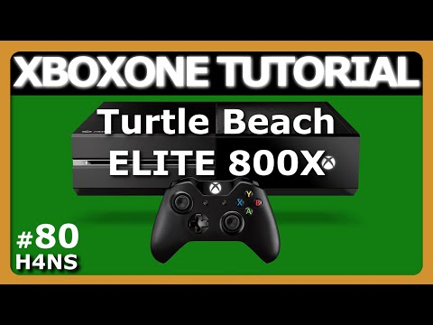 Turtle Beach ELITE 800X REVIEW TEST XBOX ONE Tutorial