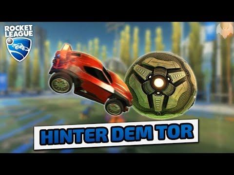 Hinter dem Tor - Rocket League - Deutsch German - Dhalucard thumbnail