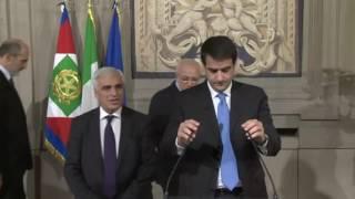 """Governo. Paolo Gentiloni in """"pole position"""" per la poltrona di Presidente del Consiglio"""