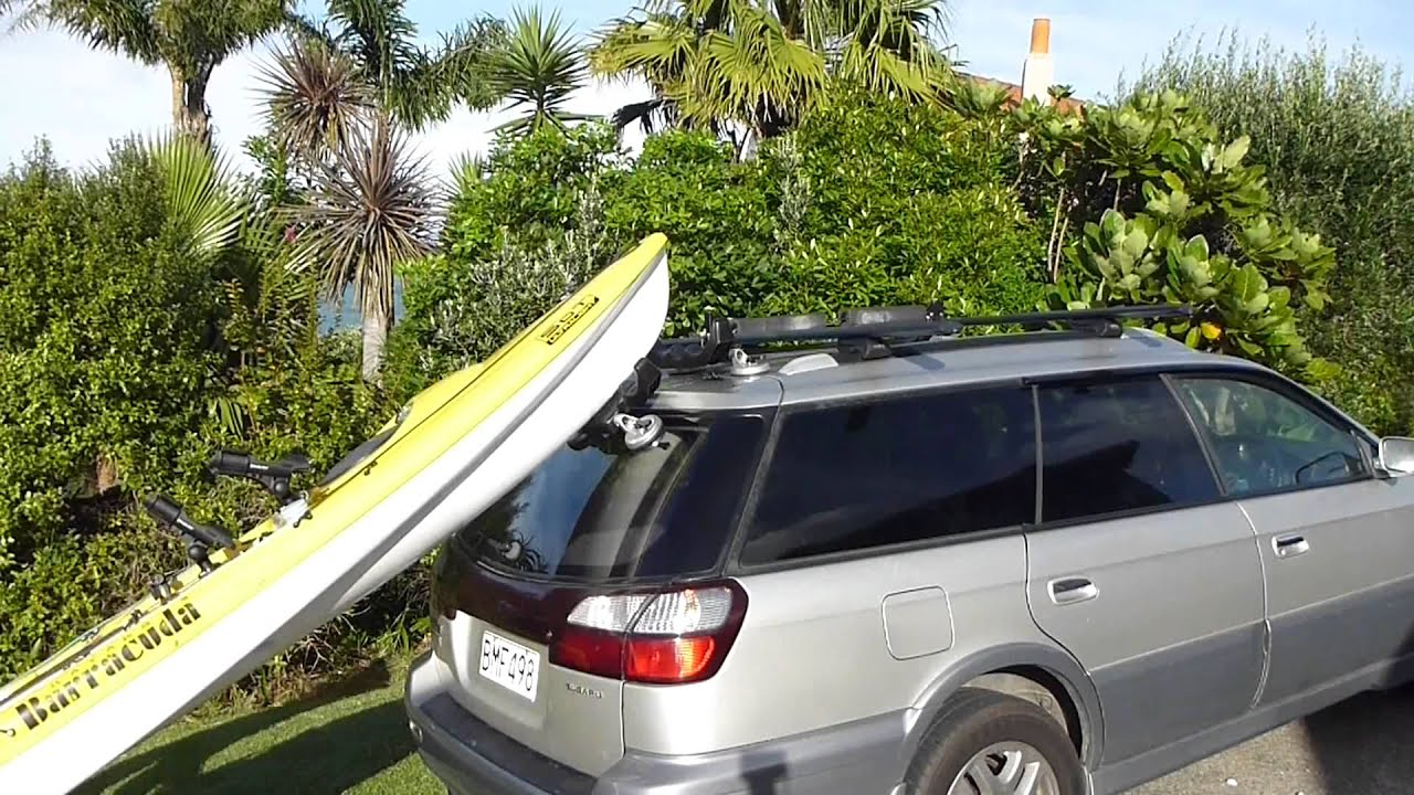 K Rack Easy Kayak Loader For Hatchback Suv Vehicles Youtube