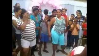 Concurso De Niñas & Doñas Bailando Ay ...