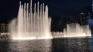 Музыкальный фонтан Дубай, ОАЭ Нереально красиво! шоу Танцующие или поющие фонтаны 2019