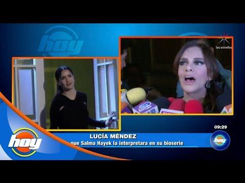 Lucía Méndez quiere que Salma Hayek la interprete en su bioserie | Hoy