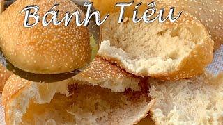 Bánh Tiêu Nở Căng Rỗng Ruột Xốp Giòn Dai Và Ngon Ơi Là Ngon - Vietnamese Hollow Donuts - *Doughnuts