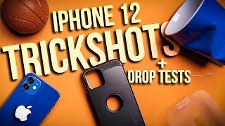 iPhone 12 Drop Tests + Trick Shots! - Spigen Tough Armor Case - Review