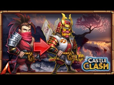 Double Evolving New Hero Ronin! LiveStream Highlight Castle Clash