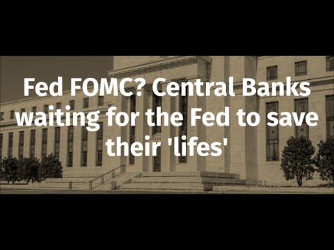 Fed FOMC? Central Banks waiting for the Fed to save their 'lifes' - Bednarik + Elam