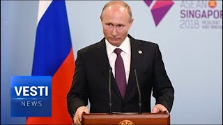 Putin: Development of Economic Relations Will Continue, Western Political Posturing Can't Stop It!