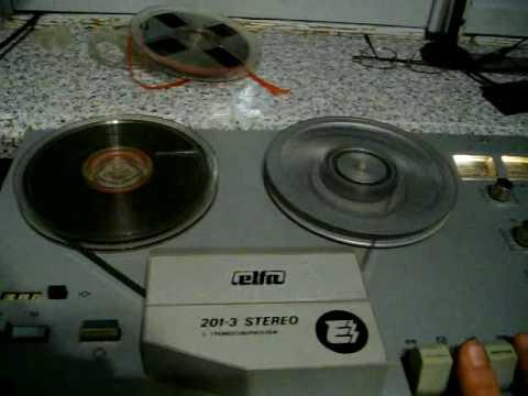 Эльфа 201-3 Стерео магнитофон.