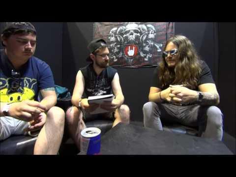 Of Mice & Men - Aaron Pauley Interview - Hellfest 2017