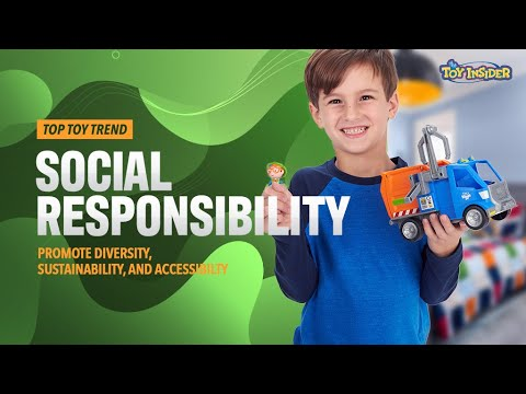 Toy Insider Top Toy Trend 2020: Social Responsibility