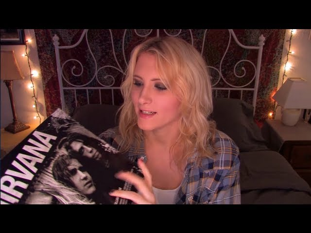 Time Travel Tuesday: Nirvana - ASMR - Soft Speaking, Tapping, Page Turning Travel Video