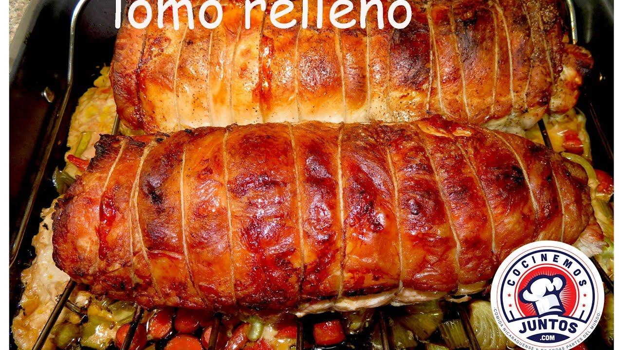 Como Cocinar Lomo De Cerdo   Lomo De Cerdo Relleno Una Receta Para Navidad Youtube